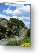 County Clare Greeting Cards - Irish Garden County Clare Greeting Card by Teresa Mucha