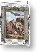 Heretic Greeting Cards - Irish Massacre, 1641 Greeting Card by Granger
