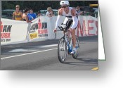 Ironman Photo Greeting Cards - Ironman Greeting Card by Charles  Jennison