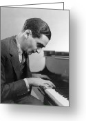 Weimar Greeting Cards - Irving Berlin (1888-1989) Greeting Card by Granger