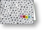 Different Ideas Greeting Cards - Is Love Colorblind  Greeting Card by Igor Kislev