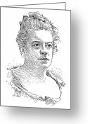 Isabel Greeting Cards - Isabel Florence Hapgood Greeting Card by Granger