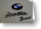 Bmw Emblem Greeting Cards - Isetta 300 Greeting Card by Susan Herber