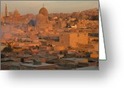 Minaret Greeting Cards - Islamic Cairo Greeting Card by By Neil Donovan.  Visit www.neildonovan.net for more.