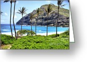 Reception Photo Greeting Cards - Island Images Greeting Card by Cheryl Young