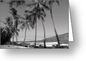 Wall Pictures Greeting Cards - Island Waves Greeting Card by Athala Carole Bruckner