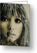 George Harrison Painting Greeting Cards - Isntt it Pity Greeting Card by Paul Lovering