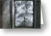 Dark Greeting Cards - Isolation Greeting Card by Photodream Art