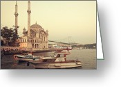 Sultan Greeting Cards - Istanbul Greeting Card by Ilker Goksen
