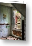 Abandoned Houses Greeting Cards - It Can Always be Worse Greeting Card by JC Findley