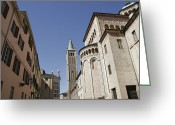 Exterior Buildings Greeting Cards - Italian Architecture And Exterior Greeting Card by Gina Martin