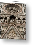 Classical Style Greeting Cards - Italy. Tuscany. Florence. Greeting Card by Buena Vista Images