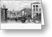 1833 Greeting Cards - Italy: Verona, 1833 Greeting Card by Granger