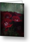 Florals Greeting Cards - Its a Heartache Greeting Card by Laurie Search