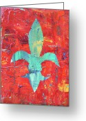 Spice Painting Greeting Cards - Its Hot Greeting Card by Maria Boudreaux