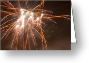 Pyrotechnics Greeting Cards - Its On Greeting Card by Paul Mangold