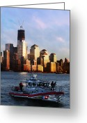 September 11 Greeting Cards - Its Our Freedom Greeting Card by Paul Ward