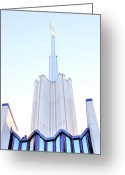 Pittsburgh Greeting Cards - Ivory Towers Greeting Card by Kenneth Mucke