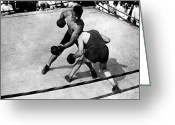 Match Greeting Cards - Jack Dempsey Greeting Card by Granger