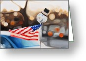 Jack-in-the-box Greeting Cards - Jack Greeting Card by William Harris