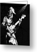 Bass Digital Art Greeting Cards - Jaco Greeting Card by Ken Walker