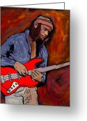 N Framed Prints Greeting Cards - Jaco Greeting Card by Rob Peters
