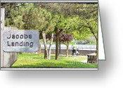 Damn Greeting Cards - Jacobs Landing Greeting Card by Traci Cottingham