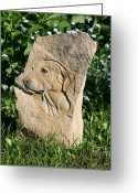 Style Reliefs Greeting Cards - Jake Greeting Card by Ken Hall