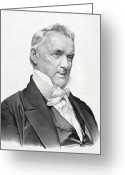 Democrats Greeting Cards - James Buchanan - President of the United States Greeting Card by International  Images