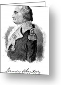 Autograph Greeting Cards - James Clinton (1733-1812) Greeting Card by Granger