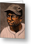 National League Painting Greeting Cards - James Cool Papa Bell Greeting Card by Ralph LeCompte
