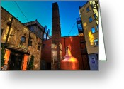 Whiskey Greeting Cards - Jameson Distillery Greeting Card by Justin Albrecht