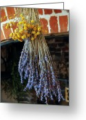 Kg Greeting Cards - Jane Austens Kitchen Greeting Card by KG Thienemann