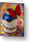 Aspiration Greeting Cards - Jar of dreams Greeting Card by Garry Gay