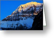 Edith Greeting Cards - Jasper - Mt. Edith Cavell 2 Greeting Card by Terry Elniski