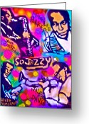 Tony B. Conscious Greeting Cards - Jazz 4 All Greeting Card by Tony B Conscious