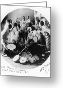 Reese Greeting Cards - Jazz Band, 1914 Greeting Card by Granger