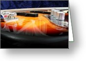 Guitar Greeting Cards - Jazz Bass Beauty Greeting Card by Todd A Blanchard
