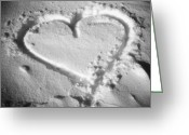 Amor Photo Greeting Cards - Je taime ... Greeting Card by Juergen Weiss