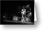 Live Music Greeting Cards - Jeff Beck on Guitar 5 Greeting Card by The  Vault