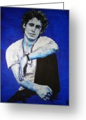 Jeff Buckley Greeting Cards - Jeff Buckley Greeting Card by Luke Morrison