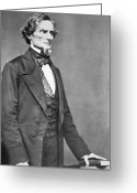U.s.a. President Greeting Cards - Jefferson Davis Greeting Card by American Photographer