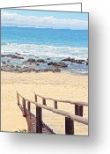 Benjamin Matthijs Greeting Cards - Jeffreys Bay Greeting Card by Benjamin Matthijs