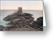 Great Point Greeting Cards - Jersey - Noirmont Point - Channel Islands - England Greeting Card by International  Images