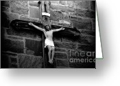 Jesus Christ Icon Greeting Cards - Jesus Christ Greeting Card by David Lee Thompson