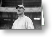 Polo Grounds Greeting Cards - Jim Thorpe (1888-1953) Greeting Card by Granger