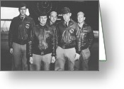 Japanese Greeting Cards - Jimmy Doolittle and His Crew Greeting Card by War Is Hell Store