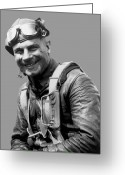 Pilot Greeting Cards - Jimmy Doolittle Greeting Card by War Is Hell Store