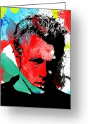 Abstract Framed Prints Framed Prints Greeting Cards - Jimmy Green Greeting Card by Jerry Cordeiro