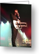 Blues Greeting Cards - Joe Bonamassa 1 Greeting Card by Peter Chilelli